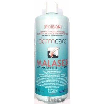 MALASEB (1000 ml) แชมพูมาลาเซ็บ ต้านเชื้อรา แบคทีเรีย ผิวอักเสบ ลอก ตกสะเก็ด รังแค มีกลิ่นตัว สุนัข-แมว Exp:01/2019 ++ส่งฟรี KERRY++