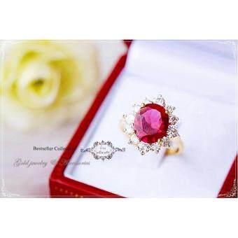 ManeeNopparut มณีณพรัช แหวน ทับทิม รุ่น RW033