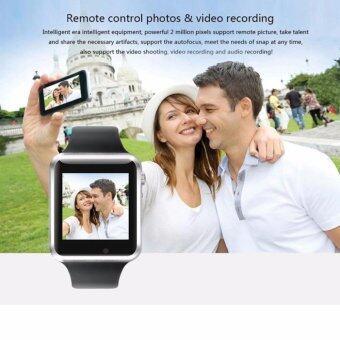 MEGA Fashion Smart Watch with Bluetooth รุ่น MG0032 (Black/Black) (ฟรี 2pcs Smartwatch Battery+Charger) - 5