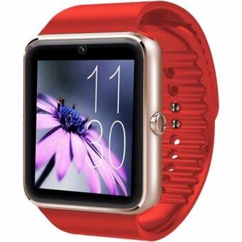 MEGA Fashion Smart Watch with Bluetoothรุ่น SM0053(Red/Gold)