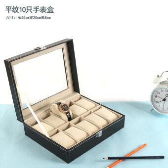 Mengluo นาฬิกากล่องกล่องเก็บของเยื่อหุ้มสมองล็อคสไตล์ยุโรปนาฬิกา