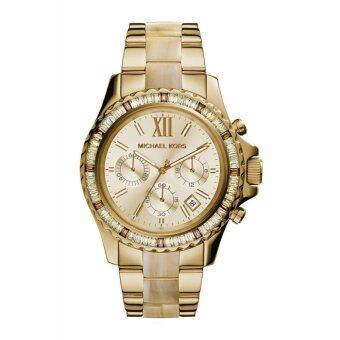 ซื้อ/ขาย Michael Kors นาฬิกาผู้หญิง Everest Light Champagne รุ่น MK5874 (สีทอง)