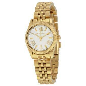 ซื้อ/ขาย Michael Kors Silver Dial Gold-tone Stainless Steel Ladies Watch MK3229
