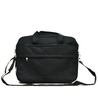 MilesKeeper กระเป๋าสะพายใส่เอกสารและโน๊ตบุ๊ค    (Black)