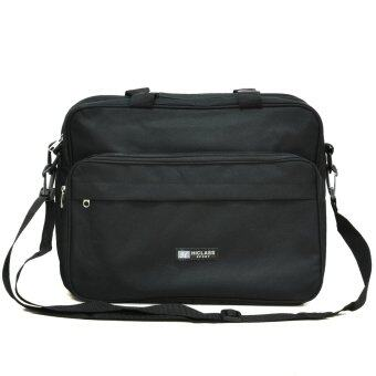 กระเป๋าสะพาย สำหรับใส่เอกสารและโน๊ตบุ๊ค รุ่น sMSG02(Black)