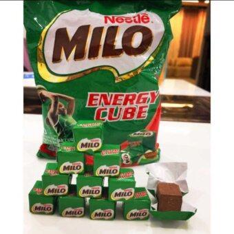 Milo Enenergy Cube ขนมชอคโกแลต (1 ห่อมี 100 ก้อน) จำนวน 1ห่อ