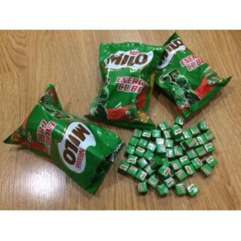 [ใช้โค้ด LUNGSHOPZ ลด 29 บาท] Milo Energy Cube ไมโลคิวป์ (3ห่อ มี300เม็ด)