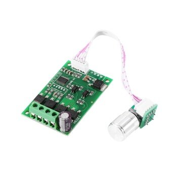 Mini 6V-24V 3A PWM DC Motor Speed Regulator Controller with ON/OFFSwitch - intl