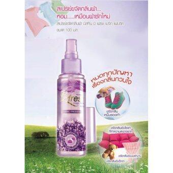 Mistine B-Fresh Magic Fabric Spray น้ำหอมฉีดผ้า ให้ผ้าหอมปราศจากกลิ่นอับ มิสทีน บีเฟรช เมจิก แฟบริค สเปรย์ B Fresh (2ขวด) (image 2)