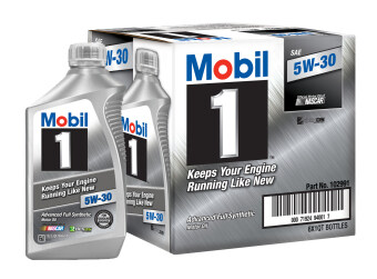 Mobil 1™ 5W-30 advanced full synthetic motor oil สังเคราะห์แท้100%
