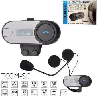 Motorcycle Bluetooth TCOM-SC อุปกรณ์ เชื่อมต่อ bluetooth ไร้สายสำหรับคนขับขี่ มอเตอร์ไซค์
