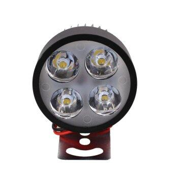 Motorcycle E-bike 12V-90V LED Headlamp Spot Light Waterproof LampBulb - intl