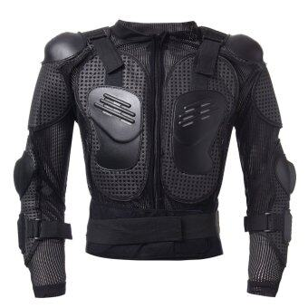 Motorcycle Full Body Protective Armor Jacket Spine Chest Shoulder Riding Gear