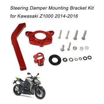 Motorcycle Steering Damper Stabilizer Mounting Bracket Kit forKawasaki Z1000 2014-2016 - intl