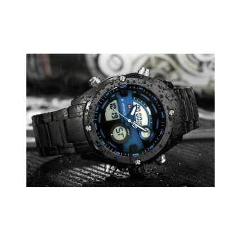 ราคา NAVIFORCE WATCH นาฬิกาข้อมือผู้ชาย เครื่องญี่ปุ่น กันน้ำ100% สายแสตนเลสแท้ รุ่น NF9088BBL