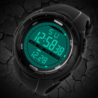 ***NBS Christmas Gift*** Skmei 1025 นาฬิกาดิจิทัล (สีดำ) + Free Box (image 4)