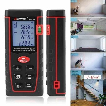 New 60M Handheld Digital Laser Distance Meter Range Finder Measure Diastimeter - intl