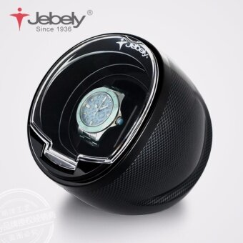 Harga New Black Single Watch Winder for automatic watches automatic winder Multi-function 5 Modes Watch Winder 1 - intl