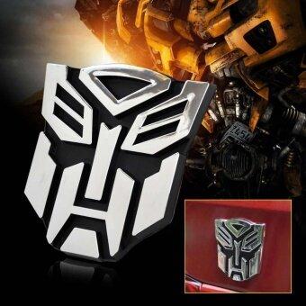 New Transformers Autobot 3D Logo Emblem Badge Decal Car Sticker - intl - 2 ...