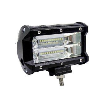 NiceEshop LED Light Pods super Bright Off Road 1 ชิ้น 72 วัตต์ LED Light Bar น้ำท่วม BEAM FOG ไฟกันน้ำสำหรับปิดถนน heavy Duty UTV รถบรรทุก ATV รถจี๊ปเรือยอชท์เรือเดินสมุทร