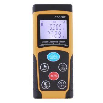 OH 100m Mini Digital Laser Distance Meter Range Finder Measure Diastimeter Orange&Black