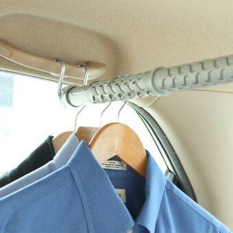 Organize It ราวแขวนผ้าในรถ - สีเทา