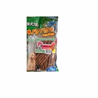 PakuPaku Natural Line Crunchy Roll Liver ปากุ ปากุ ครั้นชี่โรลกลิ่นตับ แบบแท่ง
