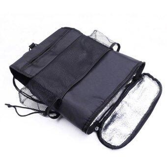 PaoTung กระเป๋ามัลติฟังก์ชั่น กระเป๋าแขวนเบาะรถ กระเป๋าห้อยเบาะรถเป้แขวนเบาะรถ กระเป๋าเก็บความเย็นความร้อน รุ่น สีดำ Multi-functionBag for Car User (Color Black) - 3