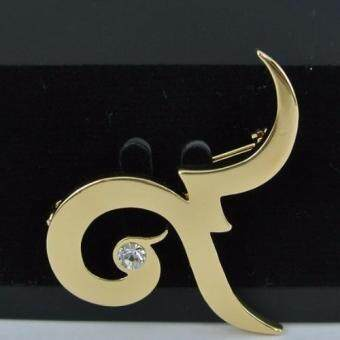 Pearl Jewelry เข็มกลัดไว้อาลัย 9 Smart ทอง