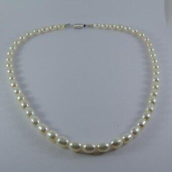 Pearl Jewelry สร้อยคอมุก Real Pearl
