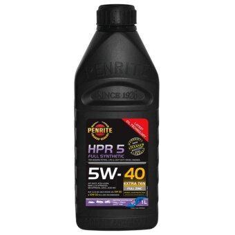 PENRITE HPR5 น้ำมันเครื่องเพนไรท์ สังเคราะห์ 100% 5W-40 ขวด 1 ลิตร