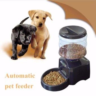perfect pet diner เครื่องให้อาหารสัตว์เลี้ยงอัตโนมัติ(สีดำ)