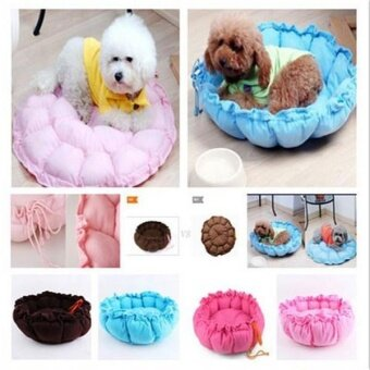 Harga Pet Dog Bed Puppy Cushion Cat Winter Soft Warm Kennel Mat PadSupplies - intl