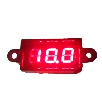 วัดโวลท์ดิจิตอลกันน้ำขนาดเล็ก(สีแดง)