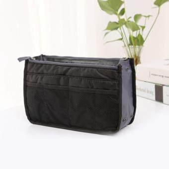 กระเป๋าจัดระเบียบของใช้ต่างๆ เหมาะสำหรับพกพา (สีดำ)