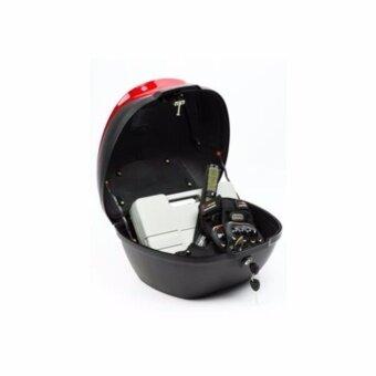 กล่องเก็บของท้ายรถมอเตอร์ไซค์ : สีดำ