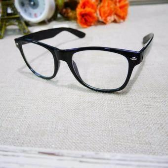 แว่นตากรองแสงสีฟ้า ทรงเหลี่ยมขาสปริง ขนาดมาตราฐาน