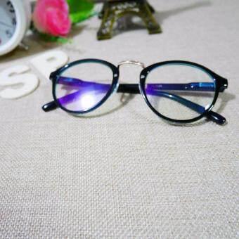 แว่นตาแฟชั่นฮิต เลนส์กรองแสงคอมพิวเตอร์ กรองแสงโทรศัพท์ทรงหยดน้ำแฟชั่นสีโปร่งใส ดั้งทอง
