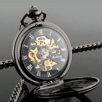 สร้างโพรงกระดูกมนุษย์โบราณเครื่องนาฬิกาควอทซ์คล้ายคลึงกระเป๋าของขวัญ