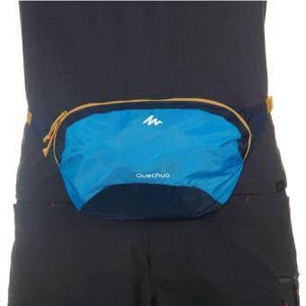 เสนอราคา กระเป๋าคาดเอววิ่ง สำหรับใส่มือถือและอุปกรณ์ สีน้ำเงินฟ้า