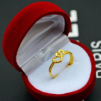ที่เป็นที่นิยมไม่ทองเหลืองชุบแหวนคู่แหวนทองแหวน