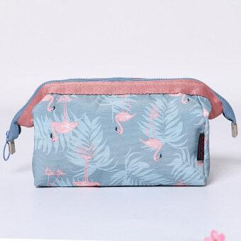 กระเป๋าเดินทางแบบพกพากันน้ำถุงซักเดินทางนางสาวกระเป๋าเครื่องสำอาง