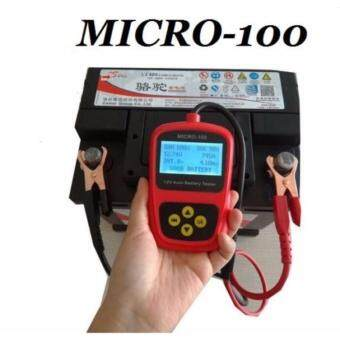Professional Digital 12V car Battery Load Tester Automotive Micro 100 CCA Analyzing Bad Cell Test Tool