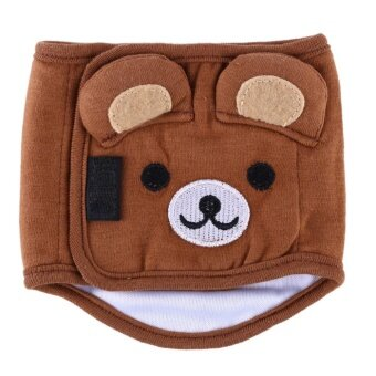 Harga Puppy Sanitary Underwear Belly Wrap Diaper 24-28cm (Brown) - intl