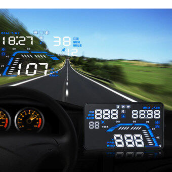 Q7 HUD 5.5 inch Car GPS Head Up Display - intl