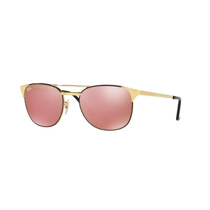 Ray-Ban แว่นกันแดด รุ่น - RB3429M - Gold/Black (9000Z2) Size 55 Copper Flash