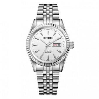 ซื้อ/ขาย RHYTHM นาฬิกาข้อมือ Automatic รุ่น A1111S01 - Silver