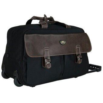 Romar Polo กระเป๋าเดินทางแบบถือพร้อมล้อลาก 20 นิ้ว รุ่น POLO 01720 (Black)