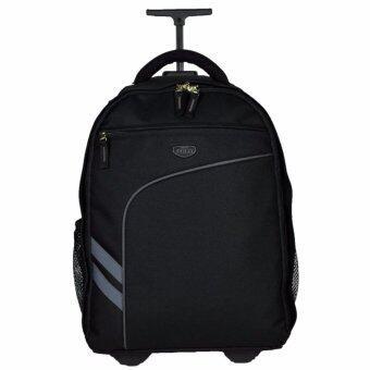 Romar Polo กระเป๋า กระเป๋าเป้ล้อลาก Code R123418\ (Black/Black)