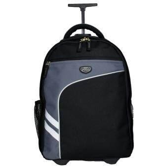 Romar Polo กระเป๋า กระเป๋าเป้ล้อลาก Code R123418\ (Black/Grey)
